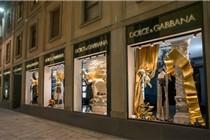 米兰Dolce&Gabbana橱窗陈列