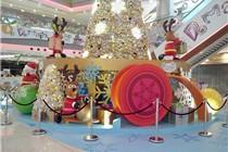 香港大本型「至型极地圣诞村」圣诞主题美陈