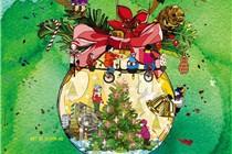 PMQ「Trees of stars 星闪圣诞」圣诞装置展