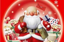 2014年国内各大百货圣诞海报集锦