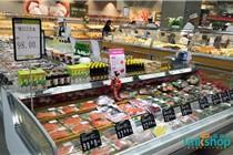 永辉精致超市西安曲江池东路店陈列