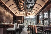 香港的机械餐厅AMMO的独特设计