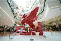 上海商场2014年元旦装饰案例-南京西路篇