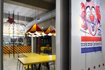 雅典Biribildu Souvlaki马戏团主题餐厅