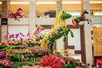盘点解析香港各大商场马年装饰