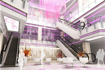 双宇购物中心空间设计