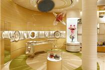 路易·威登专卖店室内环境以及商品陈列