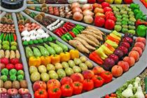 美国Zupan's蔬果区创意蔬菜陈列