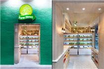 香港首家农场直接概念店设计