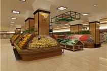 粗犷不失细腻的美式超市设计
