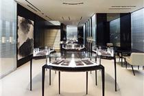 东京戴比尔斯珠宝的室内设计