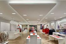 德国Wanner店服装展台设计