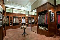 圣彼得堡Fox Land服装店柜台设计