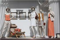 玛西莫·都蒂伦敦店2014春橱窗展示
