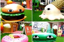 香港时代广场泰国艺术装置展览美陈