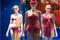 英国PRIMARK服装店2014年橱窗陈列