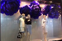 "Dior""花开""系列橱窗(2014香港金钟太古广场店)"