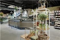 瑞士苏黎世耶尔莫利购物中心食品区