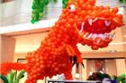 朝阳大悦城六一节美陈-疯狂侏罗纪欢乐气球节