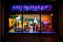 伦敦哈维·尼克斯2014年春季橱窗陈列