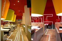 俄罗斯aeropalich餐厅室内环境