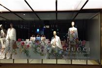 Gucci京东新宿店橱窗(2014春)