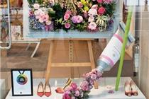 伦敦花卉橱窗比赛获奖作品