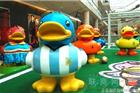 17只B.Duck小黄鸭登陆北京金融街购物中心