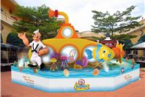 黄金海岸商场「大力水手Popeye夏日亲亲海洋」装置艺术