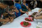 2014年江西乐卖特购物广场上饶门店端午节粽晏活动现场