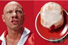 奇思妙想做餐饮 真人脸配甜甜圈的门店