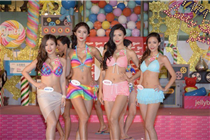 香港一田百货举办夏日泳装大赛