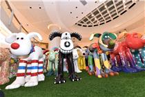 香港圆方购物中心艺术狗展览