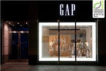 GAP2014年夏季橱窗陈列