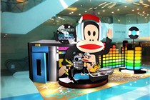 香港恒基兆业大嘴猴音乐无界限主题装饰美陈