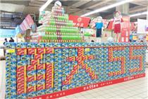 合肥百大55周年庆合家福超市创意陈列大赛