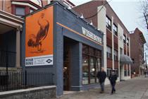 美国Wishbone炸鸡餐厅视觉设计