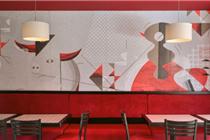 墨西哥Faenas毕加索风格餐厅