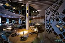 东京证券交易所日式餐厅设计