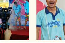 杭州西溪印象城借冰桶挑战关注孤儿
