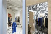 日本东京复古服装店设计