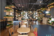 北京Home Café 非常绿色非常赞的咖啡店设计