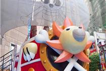 香港时代广场夏季海贼王主题装饰