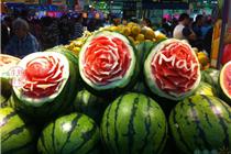 吉林西山大润发超市开业创意陈列