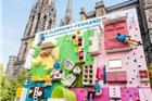 宜家在法国玩创意营销:推出家具攀岩墙