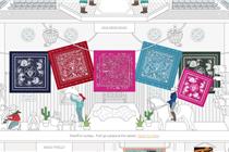爱马仕为标志性丝巾推出在线专卖店