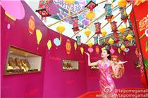 大埔超级城「新地上世纪饼模」珍藏展览