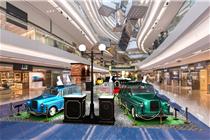 香港又一城经典名车展览装置