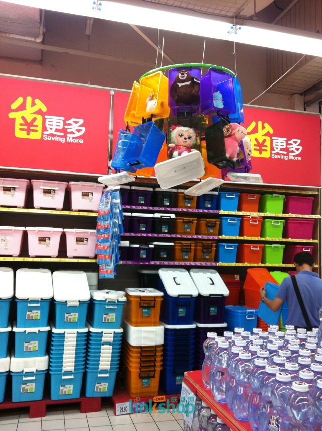 实拍:深圳家乐福超市陈列