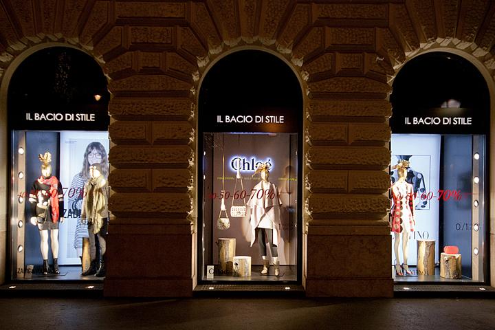 匈牙利2014年冬季il Bacio di Stile店面橱窗陈列